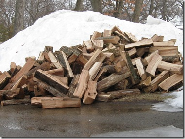 Another pile of wood to Stack!