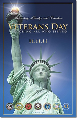 Veterans Day (2011) poster from the United States Government