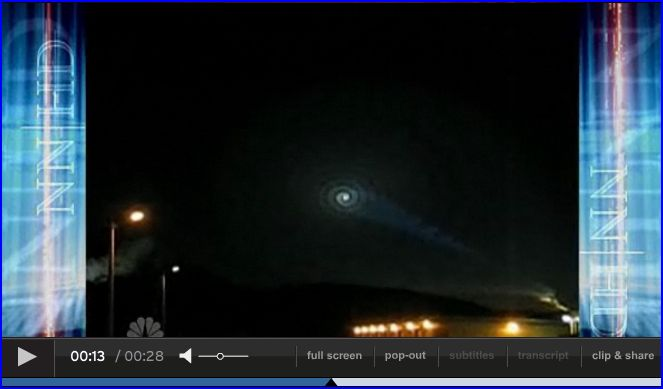 Mystery white light worries Norway picture from NBC Nightly News Video