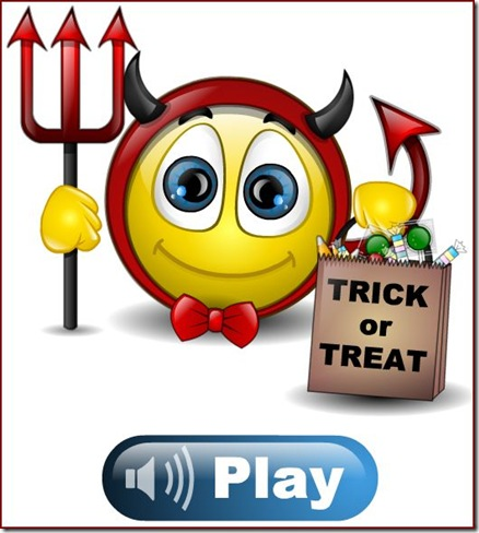 Trick or Treat from Smiley Central
